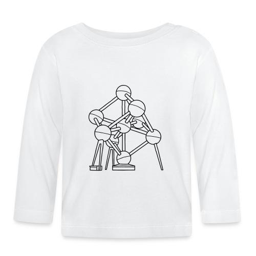 Atomium Brüssel - Baby Langarmshirt