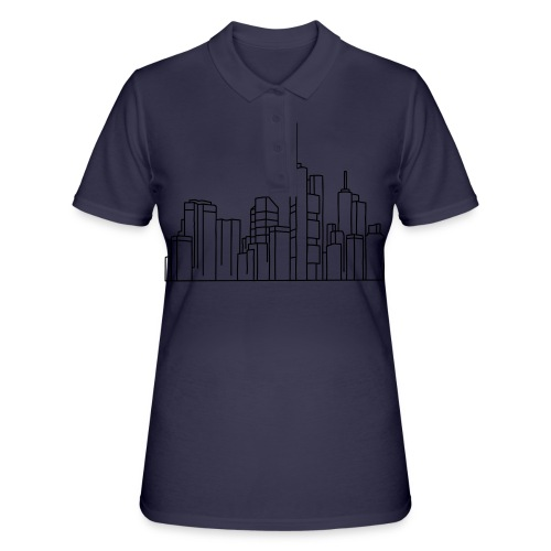Frankfurt Skyline - Frauen Polo Shirt