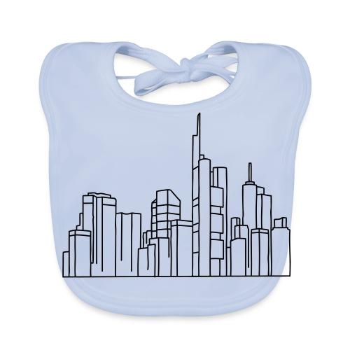 Frankfurt Skyline - Baby Bio-Lätzchen