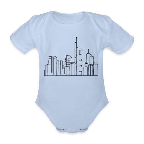 Frankfurt Skyline - Baby Bio-Kurzarm-Body