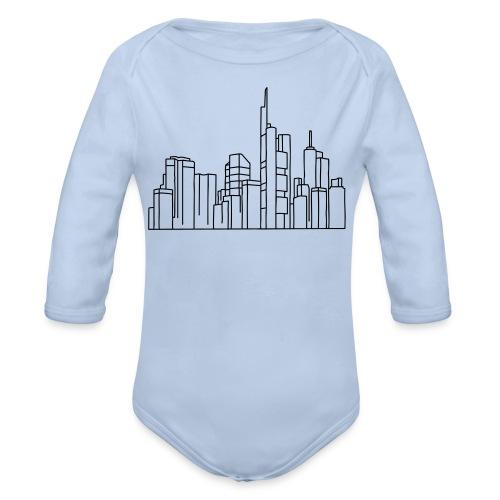 Frankfurt Skyline - Baby Bio-Langarm-Body