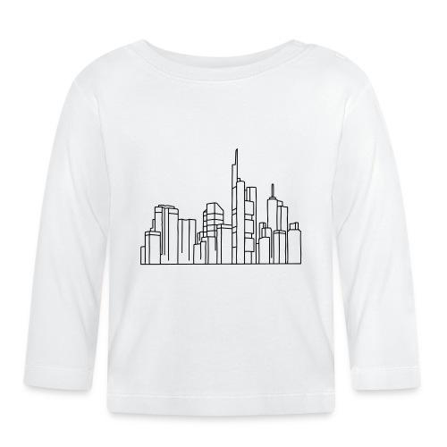 Frankfurt Skyline - Baby Langarmshirt