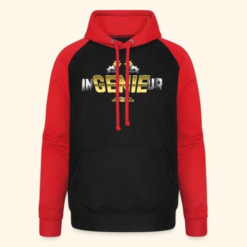 Geschenkidee: cooles Ingenieur-Shirt - Unisex Baseball Hoodie