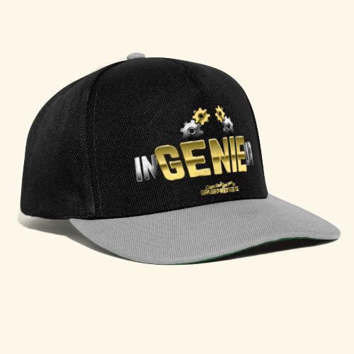 Geschenkidee: cooles Ingenieur-Shirt - Snapback Cap