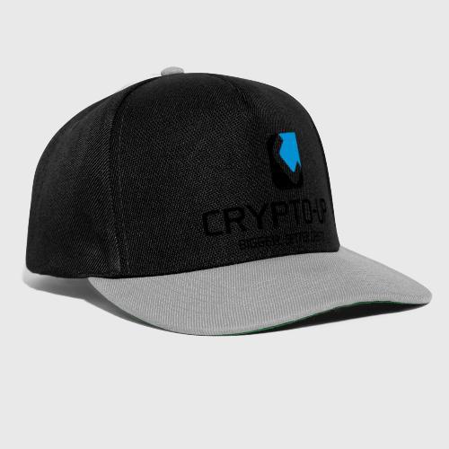 CryptoUp - Bigger-Better-Crypto - Snapback Cap