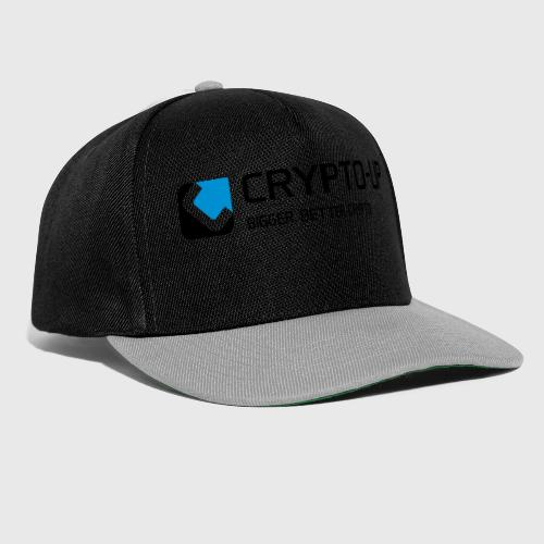 CryptoUp - Bigger-Better-Crypto Aufdruck groß - Snapback Cap