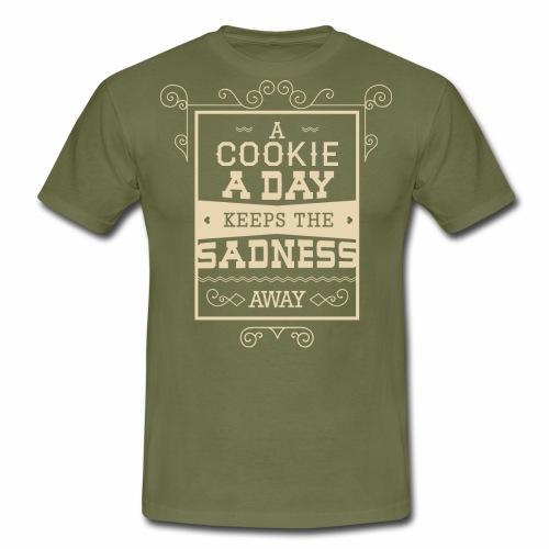 Cookie - Männer T-Shirt
