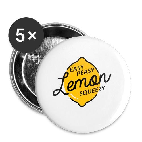 Mug Easy Peasy Lemon Squeezie  - Badge petit 25 mm