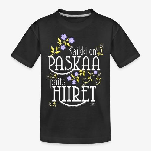 Teinien premium luomu-t-paita
