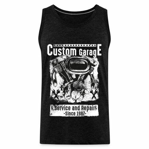Custom Garage - Männer Premium Tank Top