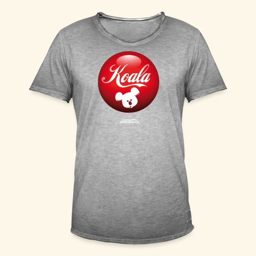 Koala T-Shirts - Männer Vintage T-Shirt