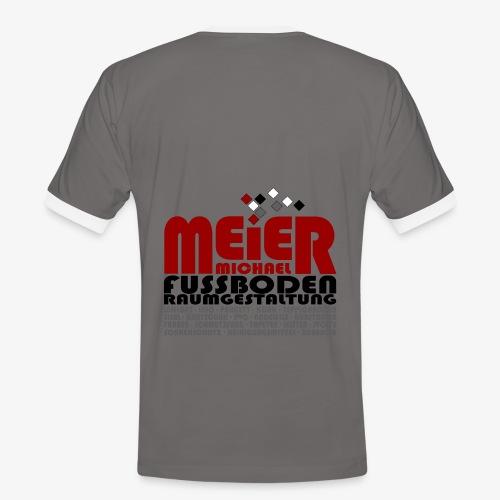 Modernes Vintage Shirt - Männer Kontrast-T-Shirt