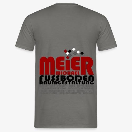 Modernes Vintage Shirt - Männer T-Shirt