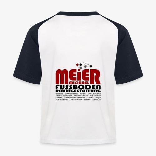 Modernes Vintage Shirt - Kinder Baseball T-Shirt