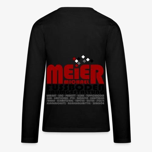 Modernes Vintage Shirt - Teenager Premium Langarmshirt
