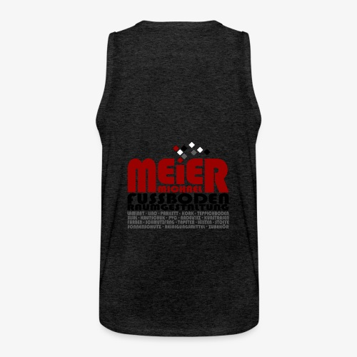 Modernes Vintage Shirt - Männer Premium Tank Top