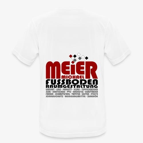 Modernes Vintage Shirt - Männer T-Shirt atmungsaktiv