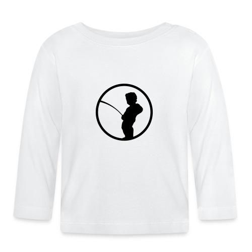 Manneke Pis - Belgium - Belgie - Brussel -bruxelles - T-shirt manches longues Bébé