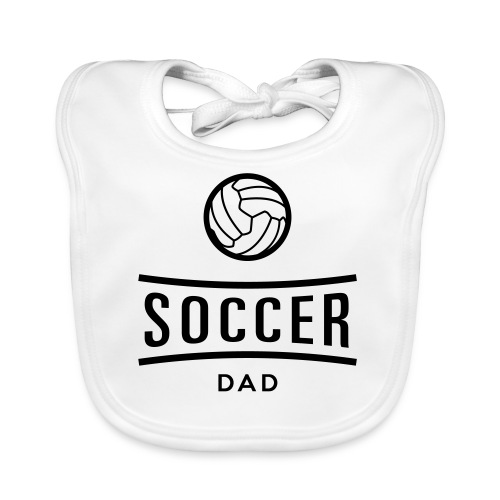 Soccer dad tee shirt football - Bavoir bio Bébé