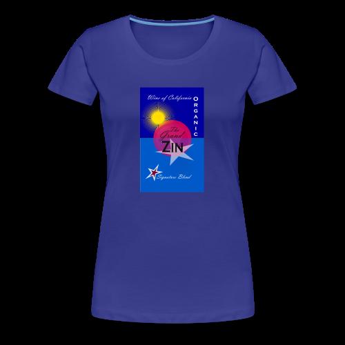 Summerwine - Premium-T-shirt dam
