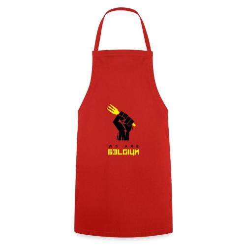we are belgium - belgie - 2018 - t shirt - Tablier de cuisine