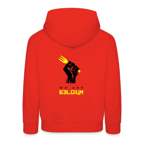 we are belgium - belgie - 2018 - t shirt - Pull à capuche Premium Enfant