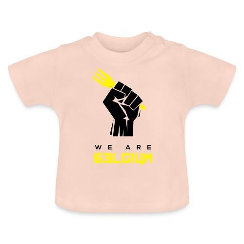 we are belgium - belgie - 2018 - t shirt - T-shirt Bébé