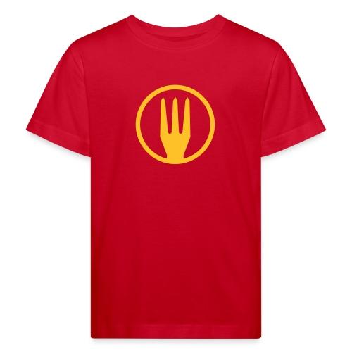 Frietvork Belgium 2018 - vrouwen t shirt - trident - T-shirt bio Enfant