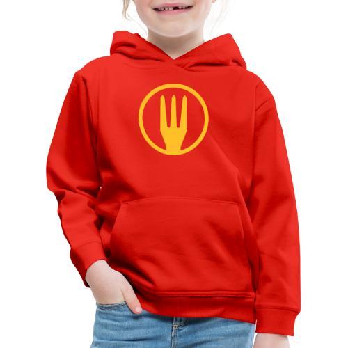 Frietvork Belgium 2018 - vrouwen t shirt - trident - Pull à capuche Premium Enfant