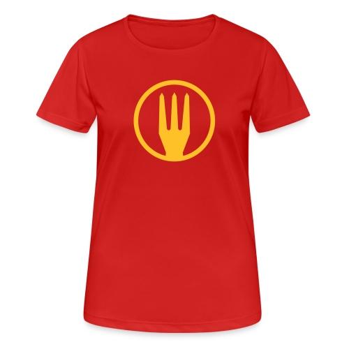 Frietvork Belgium 2018 - vrouwen t shirt - trident - T-shirt respirant Femme