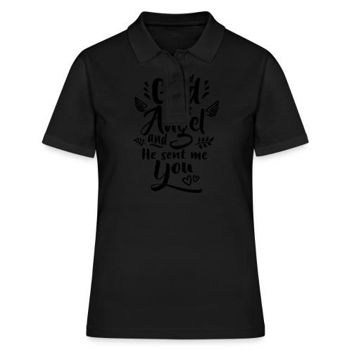 Jag bad Gud om en ängel Väskor & ryggsäckar - Frauen Polo Shirt