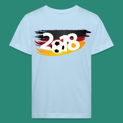 Männer Fußball Shirt  - Kinder Bio-T-Shirt