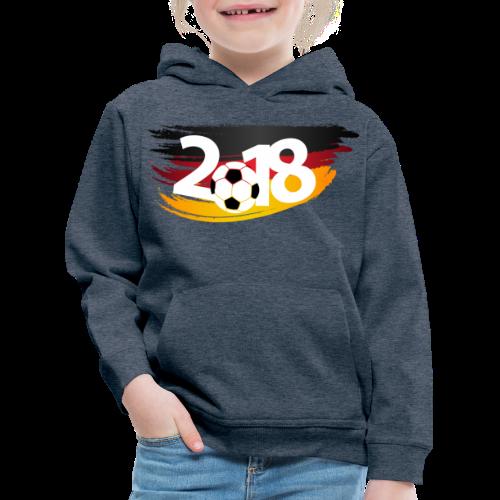 Männer Fußball Shirt  - Kinder Premium Hoodie