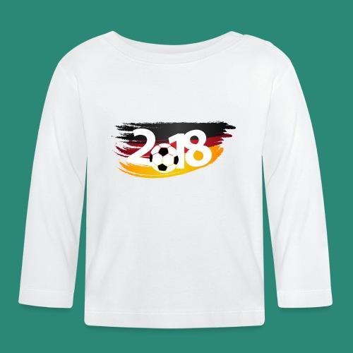 Männer Fußball Shirt  - Baby Langarmshirt