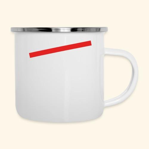 lustiges Sprüche-Shirt nicht alt - Emaille-Tasse
