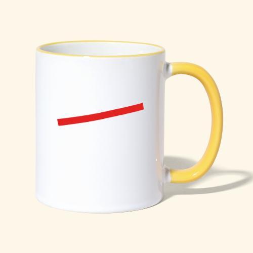 lustiges Sprüche-Shirt nicht alt - Tasse zweifarbig