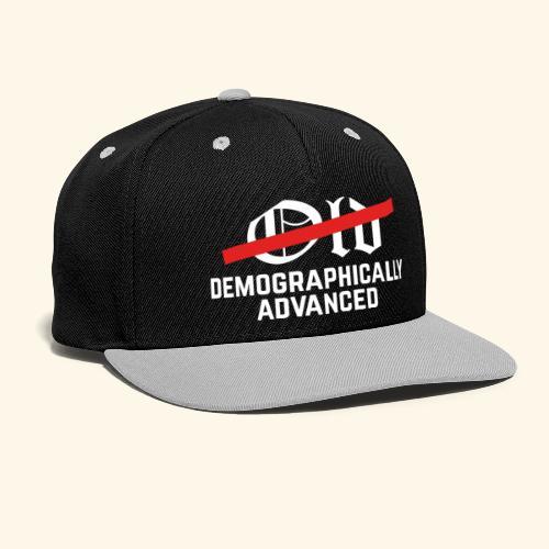 lustiges Sprüche-Shirt nicht alt - Kontrast Snapback Cap