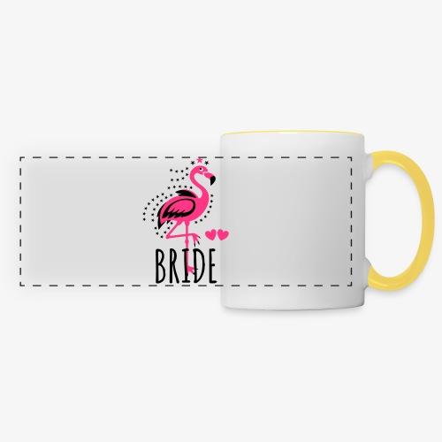 102 JGA BRIDE Flamingo Sterne Braut Herzen