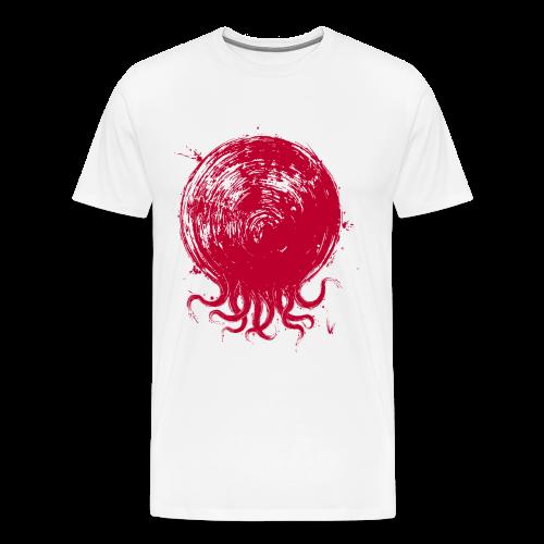 Le poulpe du Soleil-Levant - T-shirt Premium Homme
