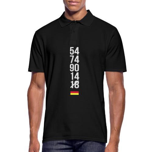 Tyskland ingen world champion 2018 svart rött guld Övrigt - Männer Poloshirt