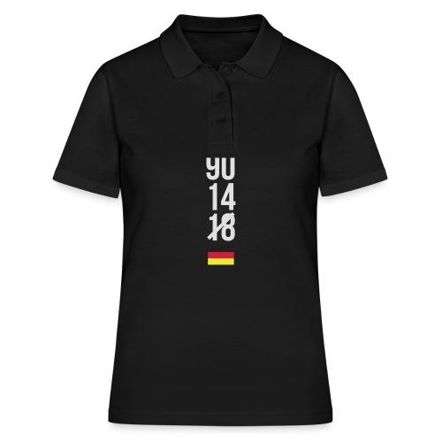 Tyskland ingen world champion 2018 svart rött guld Övrigt - Frauen Polo Shirt