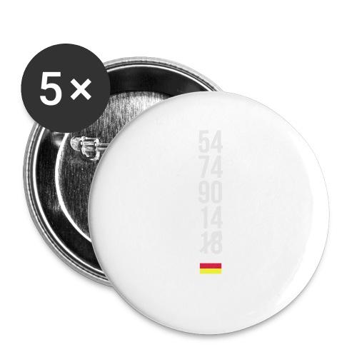 Tyskland ingen world champion 2018 svart rött guld Övrigt - Buttons klein 25 mm