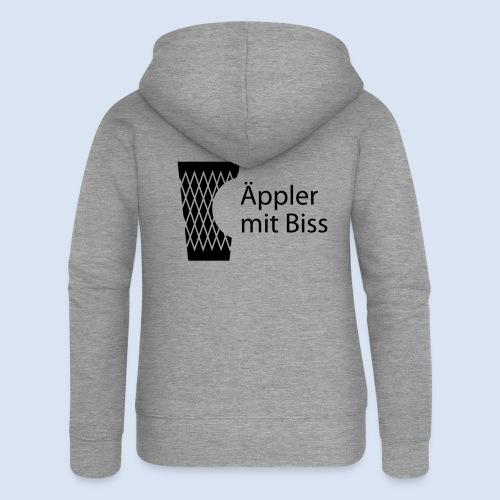 FRANKFURT DESIGN iGeripptes mit Biss #Bembeltown - Frauen Premium Kapuzenjacke