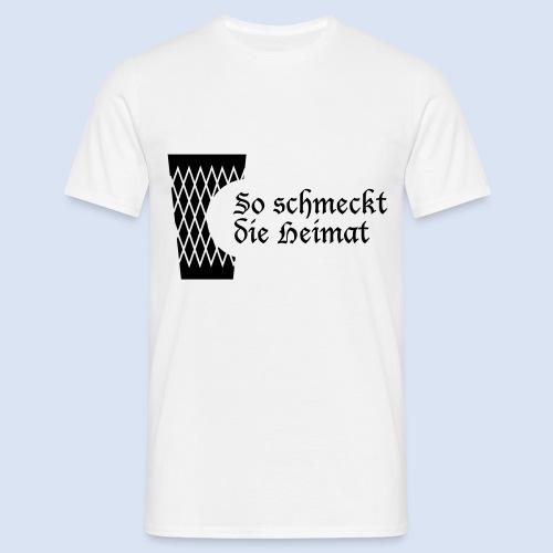 FRANKFURT DESIGN iGeripptes mit Biss #Frankfurt - Männer T-Shirt