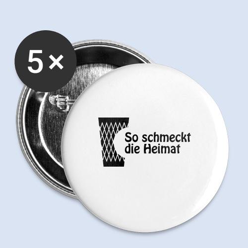 FRANKFURT DESIGN iGeripptes mit Biss #Geripptes - Buttons mittel 32 mm