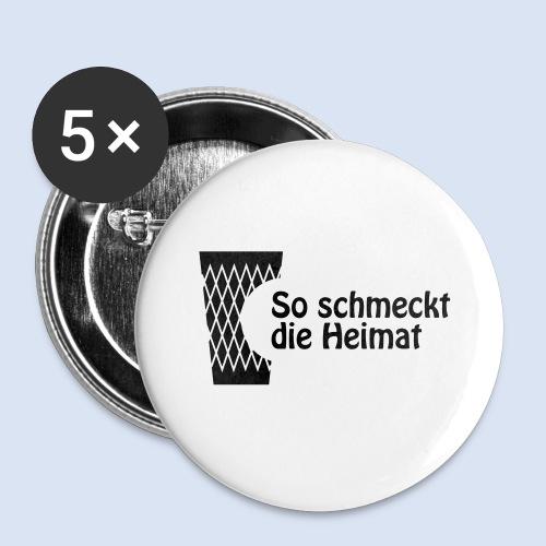 FRANKFURT DESIGN iGeripptes mit Biss #Geripptes - Buttons klein 25 mm