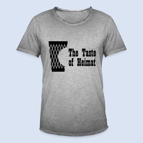 Frankfurt Design Bembeltown Geripptes Shirt - Männer Vintage T-Shirt