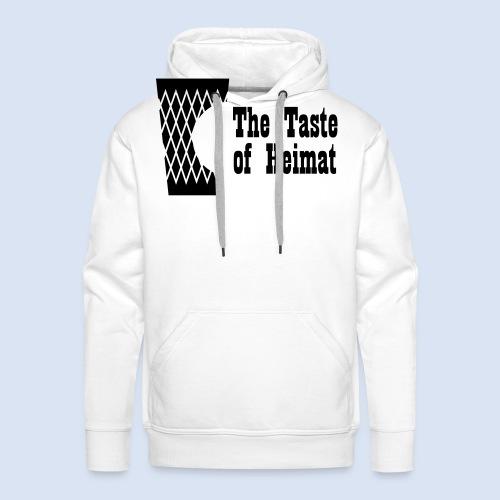 Frankfurt Design Bembeltown Geripptes Shirt - Männer Premium Hoodie