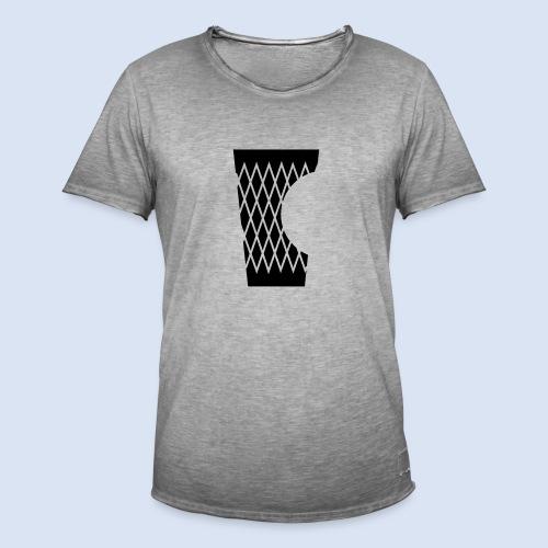 DAS GERIPPTE - Glas mit Biss #Frankfurt #Bembeltown - Männer Vintage T-Shirt