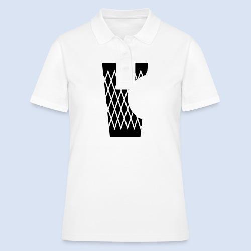 DAS GERIPPTE - Glas mit Biss #Frankfurt #Bembeltown - Frauen Polo Shirt